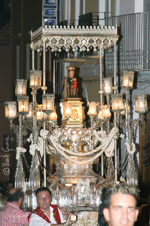 Traslado de la Virgen del Rebollet hasta Sta. Maria